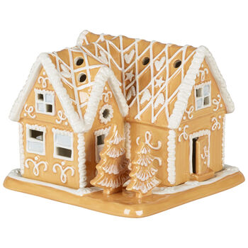 Winter Bakery Decoration Gingerbread Villa 6.25x6.25x5 in