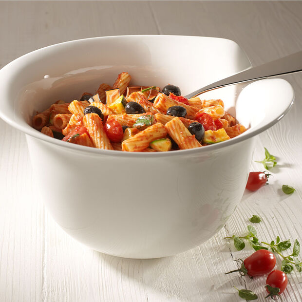 Pasta Passion Pasta Serve Bowl 13x11 in, , large