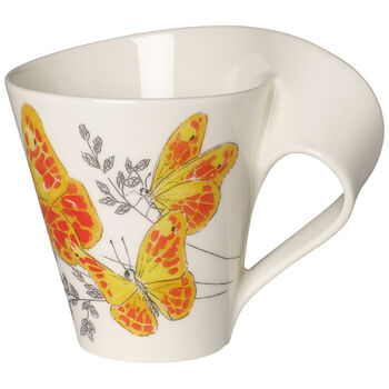 NWC Orange Washed Sulphur Mug : Gift Boxed 10 oz