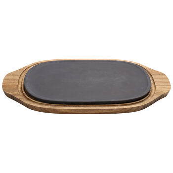 BBQ Passion Hot/Cool Plate 12.5x8 in