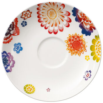 Anmut Bloom Tea Cup Saucer 6 in