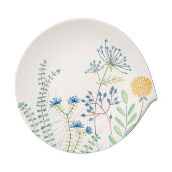 Flow Couture Gourmet Plate 12x11.5 in