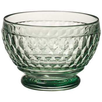 Boston Colored Individual Bowl, Green 4 3/4 in