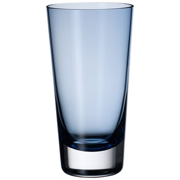 Colour Concept Highball Glass, Midnight Blue 6 1/4 in