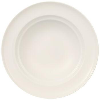 NEO White Rim Soup 9 in