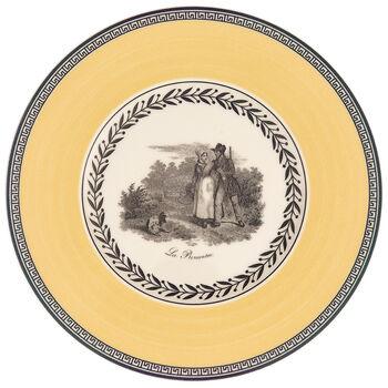 Audun Chasse Appetizer/Dessert Plate 6 1/4 in