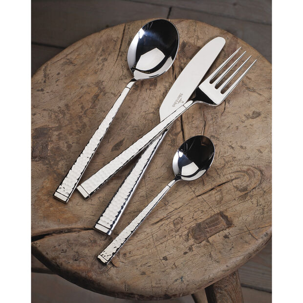 Blacksmith 60-Piece Flatware Set in Gift Box, , large