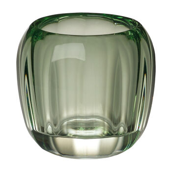 Coloured Delight  Small Tealight Holder : Green Apple 2.75 in