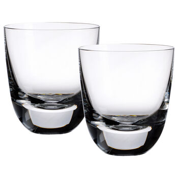 American Bar - Straight Bourbon Cocktail Tumblers, Set of 2 3 1/2 in