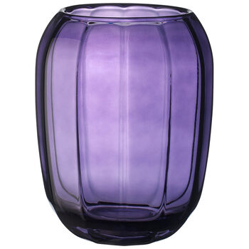 Coloured DeLight Hurricane Lamp/Large Vase : Gentle Lilac 7 in