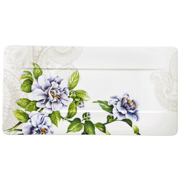 Quinsai Garden Rectangular Sandwich Tray 13.75x7 in