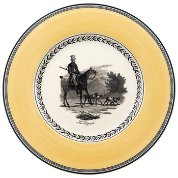 Audun Chasse Dinner Plate 10 1/2 in