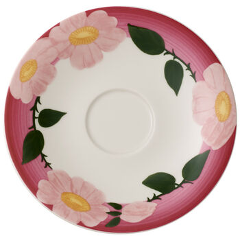 Rose Sauvage Framboise Breakfast Cup Saucer 6.25 in