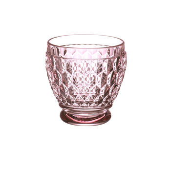 Boston Colored Shot Glass-Rose : Set of 4