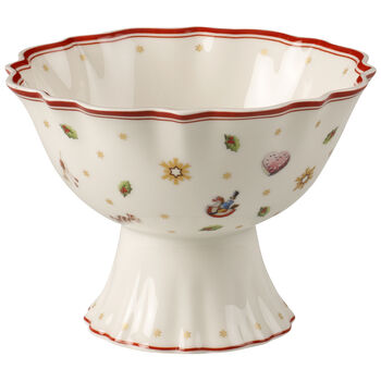 Toy's Delight Footed Individual Bowl 6 in