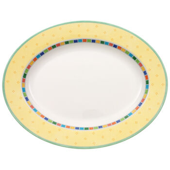 Twist Alea Limone Oval Platter 13 1/4 in