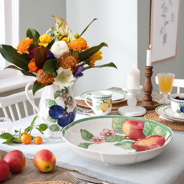 French Garden Modern Fruits Centerpiece Bowl präsentationsschale, , large