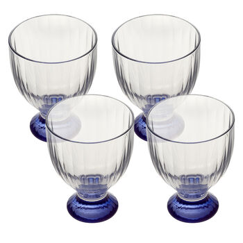 Artesano Original Bleu White Wine : Set of 4 9.75 oz