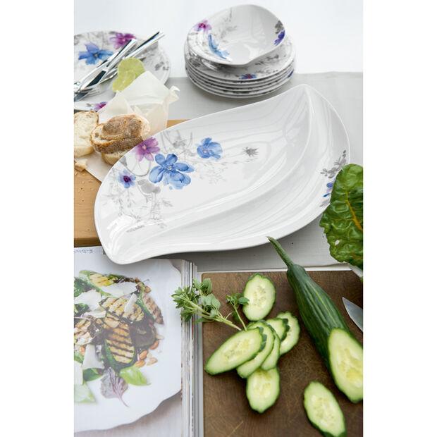 Mariefleur Grey Serve & Salad Salad Bowl 14 in, , large