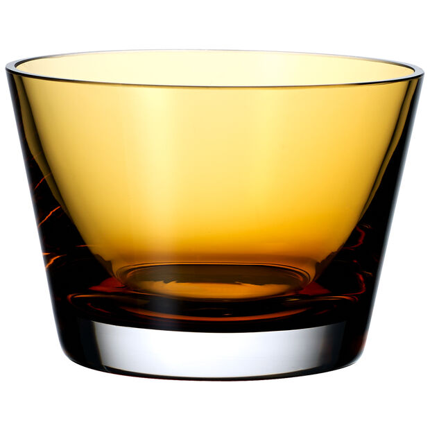Colour Concept Bowl, Amber 4 3/4 in, , large