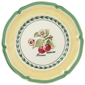 French Garden Valence Cherry Appetizer/Dessert Plate 6 1/2 in