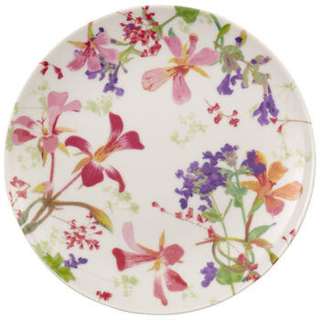 Flower Meadow Salad/Dessert Plate 7.75 in