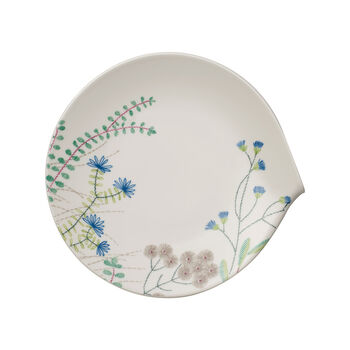 Flow Couture Dinner Plate 11x10.5 in