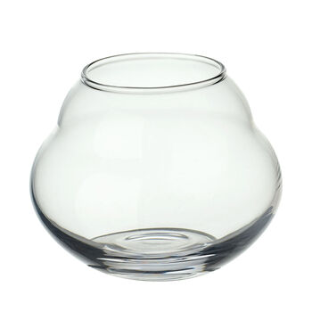 Jolie Clear Tealight Holder 4.5 in