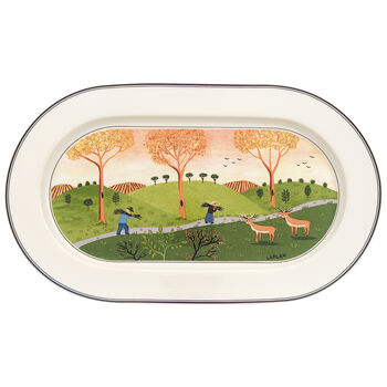 Design Naif Oval Platter 13 in