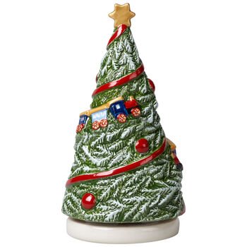 Nostalgic Melody Turning Tree Music Figurine 3.5x3.5x6.5 in