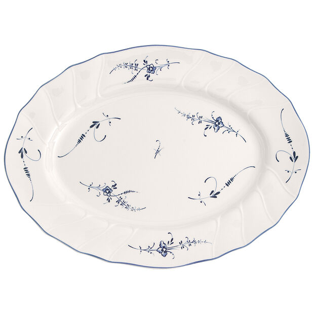 Old Luxembourg Oval Platter 14 in, , large
