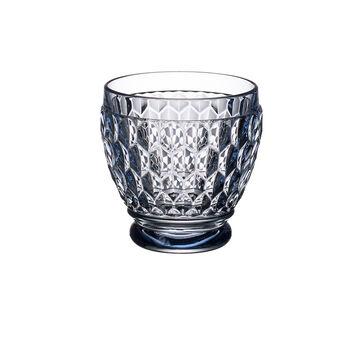 Boston Colored Shot Glass-Blue : Set of 4