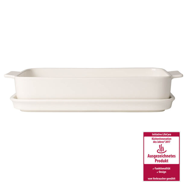 Pasta Passion Large Lasagne Dish & Lid 11.75x8in, , large
