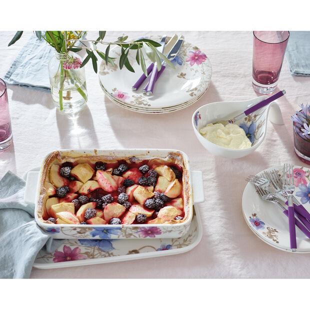 Mariefleur Gris Baking Dishes Rectangular Baking Dish 11.75 in, , large