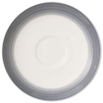 Colorful Life Cosy Grey Espresso Cup Saucer 4.75 in