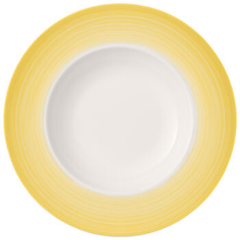Colourful Life Lemon Pie Pasta Plate 11.75 in