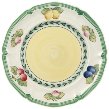 French Garden Fleurence Appetizer/Dessert Plate 6 1/2 in