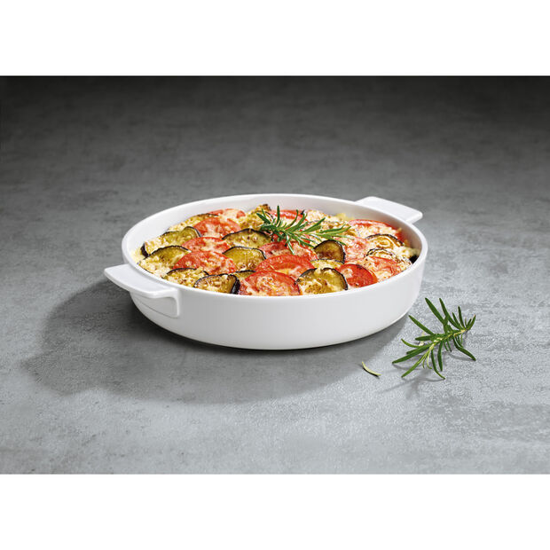 Clever Cooking Round Baking Dish 11 in, , large