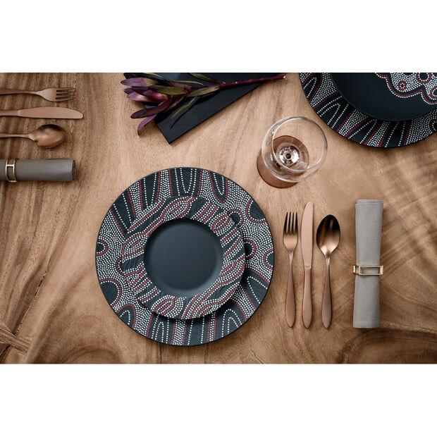 Manufacture Rock Desert Art Dinner Plate 10.5 in, , large