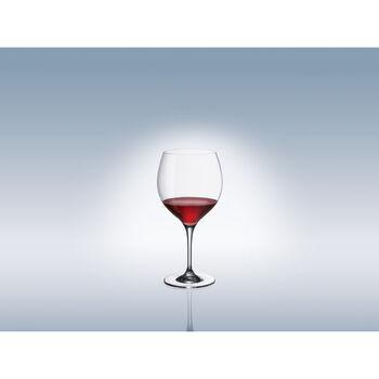 Maxima Burgundy Goblet 8 3/4 in