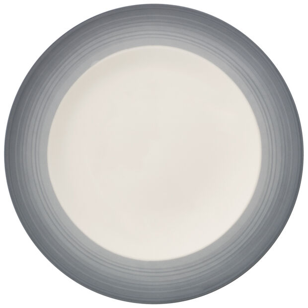 Colorful Life Cosy Grey Dinner Plate 10.5 in, , large