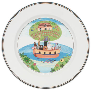 Design Naif Salad Plate #2 - Noah's Ark 8 1/4 in
