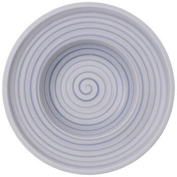 Artesano Nature Bleu Rim Soup 9.75 in