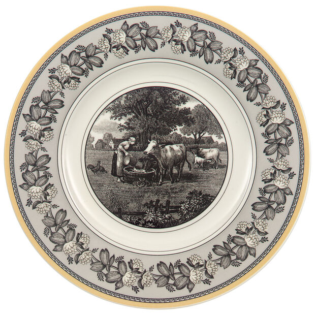 Audun Ferme Salad Plate 8 1/2 in, , large