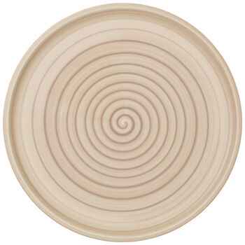 Artesano Nature Beige Buffet/Pizza Plate 12.5 in