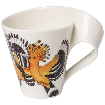 NWC Yellow Hoopoe Mug 10 oz