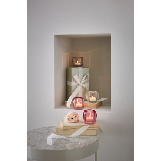Coloured Delight  Small Tealight Holder : Berry Fantasy 2.75 in, , large