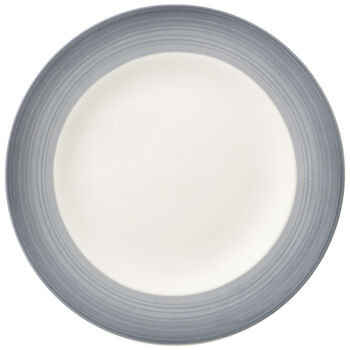 Colorful Life Cosy Grey Salad Plate 8.5 in