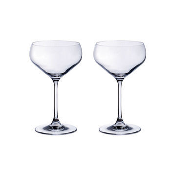 Purismo Bar Champagne Coup : Set of 2 12.75 oz