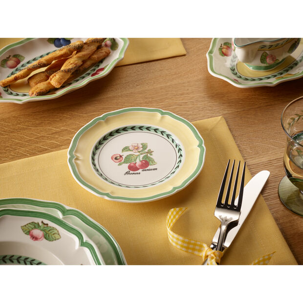 French Garden Valence Cherry Appetizer/Dessert Plate 6 1/2 in, , large